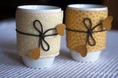 Summer Mugs by made by agah, via Flickr