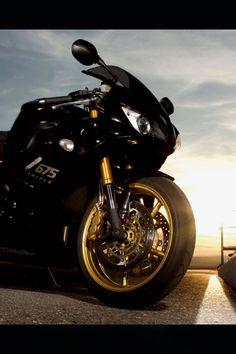 Motorcycle, Evening, Triumph Daytona 675se, Triumph Daytona 675, Triumph Daytona Free HD wallpapers