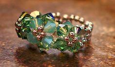 Tassle Ball ring tutorial from Jewelry Making Professor. http://www.jewelrymakingprofessor.com