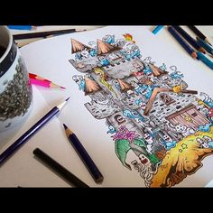 Doodle Invasion The Highly Detailed Coloring Book That Adults Love