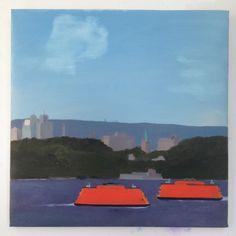 Daniel Heidkamp, Ferry, 2014, Half Gallery