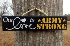 Check out our military signs selection for the very best in unique or custom, handmade pieces from our shops. Military Girlfriend, Army Mom, Army Life, Military Spouse, Military Honors, Military Relationships, Military Crafts, Military Signs, Military Love