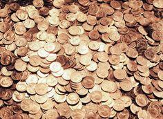 Quarters   Copper Coins - Treasure