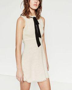 TWEED DRESS WITH LAYERED SKIRT-Mini-DRESSES-WOMAN | ZARA United States