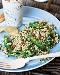 Quinoa Salad with Sugar Snap Peas // More Make-Ahead Salads: http://www.foodandwine.com/slideshows/make-ahead-picnic-salads #foodandwine