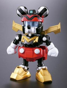 DISNEY SUPER ROBOT – WHEN MICKEY AND HIS FRIENDS MEET JAPANESE TOYS AND POWER RANGERS