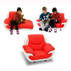 Princess Edwia Sofa Set for Children Toddler Furniture, Sofa Set, Kale, Cool Kids, Tech, Princess, Children, Brown, Fun
