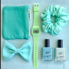 Green on #green accessories! #AmericanApparel