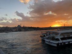 Sunset on Galata Bridge