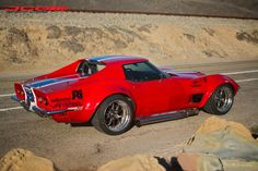 Cris G's '70 Corvette LT-1, by JCG Restoration & Customs, is powered by a Mullenix Racing Engine LS6 with JCG headers, side pipes, & fuel system. It rides on Van Steel/RAFT Motorsports suspension, JRi shocks, Eibach springs, Wilwood brakes, and Falken Azenis tires on Forgeline GA3R wheels finished with Transparent Smoke centers, Polished outers, & bolt-on Competition center cap. See more at: http://www.forgeline.com/customer_gallery_view.php?cvk=1468 #Forgeline #GA3R #Corvette #madeinUSA