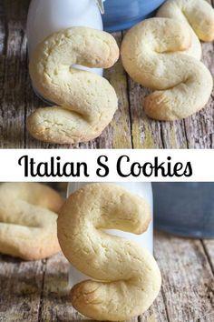 Italian Cookie Recipes, Sicilian Recipes, Italian Cookies, Italian Desserts, Italian Foods, Sicilian Food, Italian Dishes, Biscotti Cookies, Biscotti Recipe