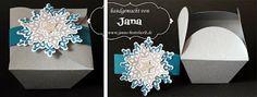 Janas Bastelwelt: Weihnachtliche Chinabox