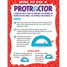 TCR7730 How to Use a Protractor Chart Image