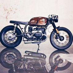 BMW Cafe Racer #motorcycles #caferacer #motos   caferacerpasion.com