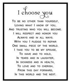 biblical vows for autumn wedding - Google Search More