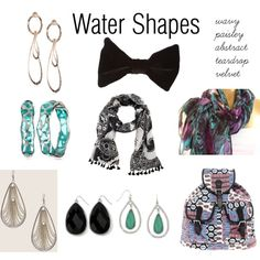 """Fashion Feng Shui Water Shapes"" by expressingyourtruth on Polyvore"