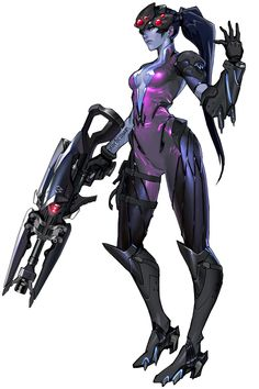 Widowmaker - Characters & Art - Overwatch