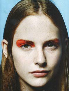 - orange -   - Originally pinned by Electre Lane onto make up - & from Gaye LaFuffy via Anna Conte -