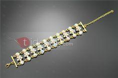 Charming Rhinestone Bridal Bracelet : Tidebuy.com