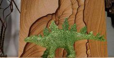 Glitter dinosaurs!