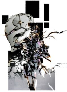 [Album on Imgur - 70 images] Art of Metal Gear Solid by Yoji Shinkawa #Gaming #VideoGames #PCGame #PlayStation #Xbox #Nintendo #SciFi #ScienceFiction #GamesArt #VideoGameArt #Konami #KojimaProductions #MetalGearSolid #MGS #TacticalEspionageAction