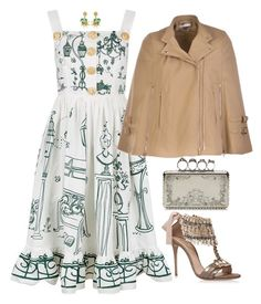 Dolce & Gabbana by carolineas on Polyvore featuring polyvore, Mode, style, Dolce&Gabbana, Givenchy, Casadei, Alexander McQueen, fashion and clothing