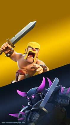 Progress for Clash Royale Coc Clash Of Clans, Zelda, Gaming Wallpapers, Barbarian, Game Art, Pikachu, Video Games, Movie Posters, Hd Wallpaper