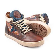 Cyprus Camping Boot - Inkkas - Global Footwear Cherry Brown, Brand Ambassador, Cyprus, Cotton Lace, Brown Leather, High Top Sneakers, Footwear, Camping, Unisex