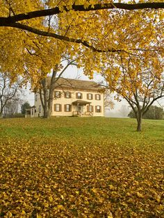 Historic building in Monmouth Battlefield State Park, New Jersey.