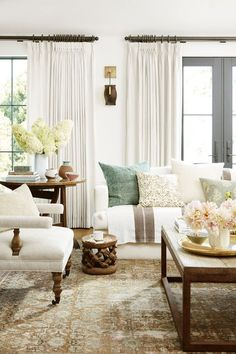 Home Interior Farmhouse .Home Interior Farmhouse My Living Room, Home And Living, Living Room Decor, Living Spaces, Cozy Living, Coastal Living, Small Living, Modern Living, Living Area