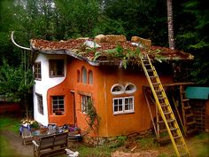 cob. cob. cob house. its not a fairy house, its a real ... self built cob home. and it seriously tickles my fancy.