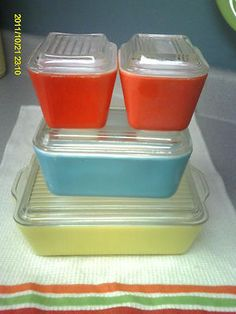 K~ Great for frig storage and baking, I have my Mothers collection
