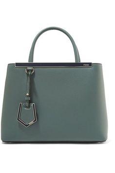 Fendi - 2Jours Petite leather shopper e5b5d31049cc0