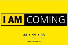 "Nikon are running an online teaser campaign dubbed ""I Am Coming"" with a countdown of less than 34 hours. Marketing Ideas, Social Media Marketing, Teaser Campaign, Bank Branding, Christmas Campaign, Advertising, Ads, Guerrilla, Digital Media"