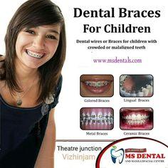MS Dental Dental Kids, Dental Braces, Dental Care, Implant Dentistry, Cosmetic Dentistry, Teeth Implants, Dental Implants, Lingual Braces, Ceramic Braces