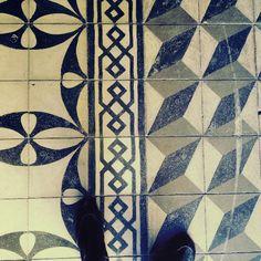 Historic tiles. Church Nossa Senhora do Rosário e São Benedito. City: Florianopolis. Country: Brasil | MOLOME™