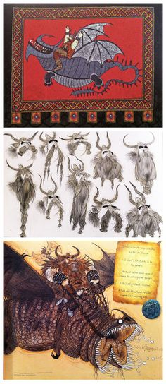 Stoick concept art via 'The Art of How to Train Your Dragon 2' (So much beauty in this book!)