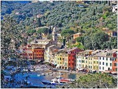 PORTOFINO  #TuscanyAgriturismoGiratola >>by Portofino, one of the best place I ever seen.