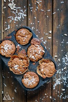Paleo Pumpkin Spice Muffins - blogger says they taste just as great as regular pumpkin muffins, take no time to make and they're good for you! Enjoy :)