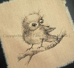 Michelle Palmer: Tiny, fluffy... feathers~