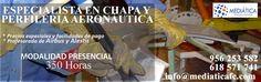 Curso de Chapisteria y Perfileria Aeronáutica. https://mediaticafc.com/formacion-aeronautica/