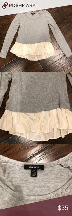 Ella Moss beautiful sweater size xs Ella Moss gorgeous sweater size xs. Material is 96% modal 4% spandex. Ella Moss Sweaters Crew & Scoop Necks