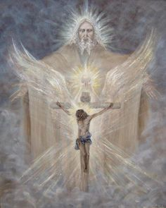 The Crucifixion Of Jesus Pictures Of Jesus Christ, Religious Pictures, Catholic Art, Religious Art, Saint Esprit, Biblical Art, Blessed Mother, Sacred Art, God Jesus