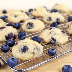 Mind Over Munch | Blueberry Yogurt Cookies Much Healthier for you and still tastes great