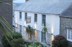 The Tide House – a luxury small hotel by the sea St Ives Cornwall UK St Ives Cornwall, Devon And Cornwall, Cornwall England, House By The Sea, The White Company, Holiday Destinations, Holiday Places, Vacation Destinations, Coastal Living