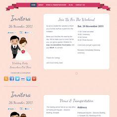 Invitora WordPress Theme