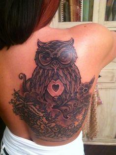 My Owl Tattoo /Julius Woods @ Skinwerks Tattoo & Design
