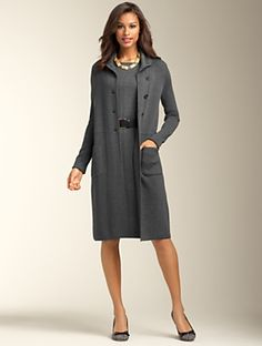 Talbots - Merino Wool Sweater Coat   New Arrivals   Apparel Discover your new look at Talbots. Shop our Merino Wool Sweater Coat for stylish clothing and accessories with a modern twist at Talbots