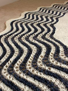 """Must keep this is mind. Instead of doing set increases in side/centre, increase throughout the shawl for each repeat of the edging ... """"Gone Sailing"""" by handepande can be found on Ravelry where she shares many other knitting projects ... http://www.ravelry.com/projects/handepande"""