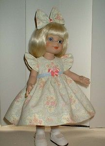 """SPRING TIME ~ for 10"""" Ann Estelle / Linda McCall ~ by SuzyB ~ doll dress set"""